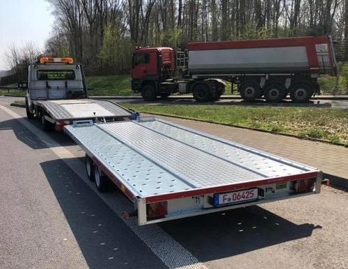 trailer galvanizado para 3000 kg