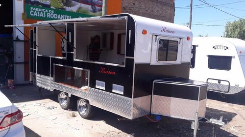 trailer gastronómico 0km nuevo  fabrica kaisen