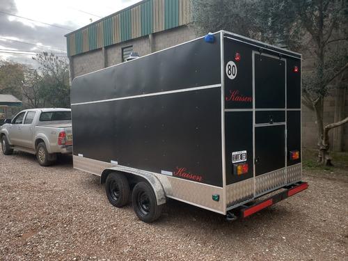 trailer gastronómico 450 de lujo nuevo fabrica kaisen