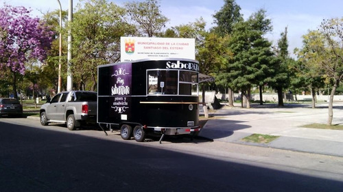trailer gastronómico 4mts, fast food, carribar