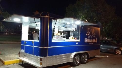 trailer gastronomico 5 mts