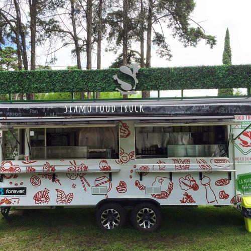 trailer gastronómico 6mts, street food, food truck