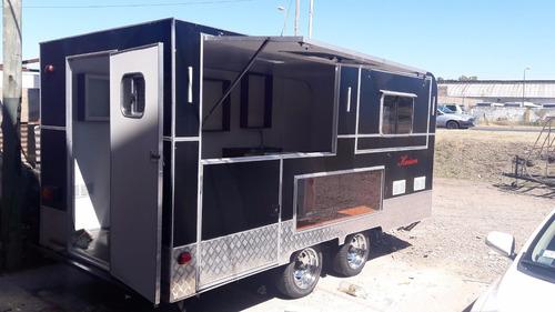 trailer gastronómico de lujo nuevo  fabrica kaisen-