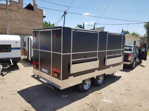 trailer gastronómico de lujo nuevo  fabrica kaisen- madryn-
