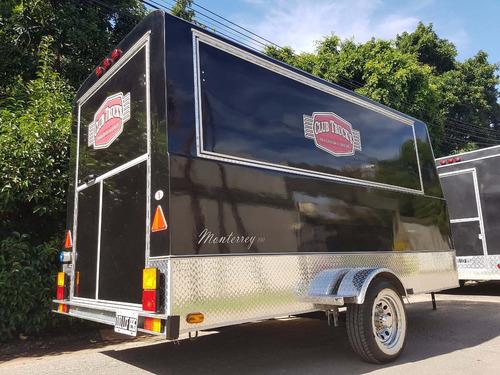 trailer gastronómico en alquiler