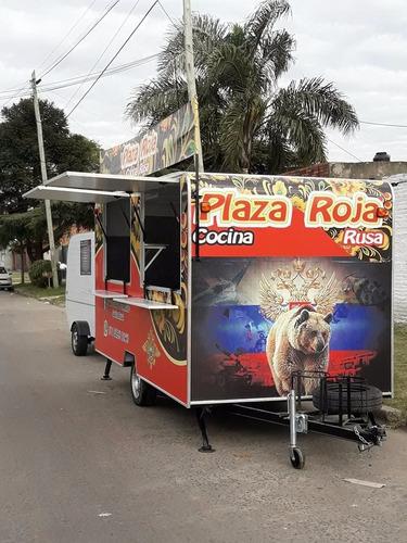 trailer gastronomico food truck 4metros por 2. dako trailers