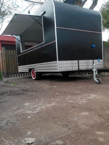 trailer gastronómico food truck