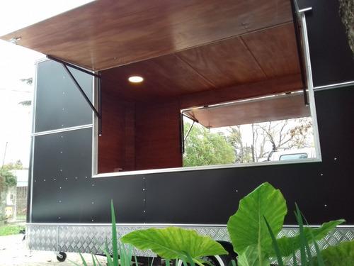 trailer gastronómico food truck americano