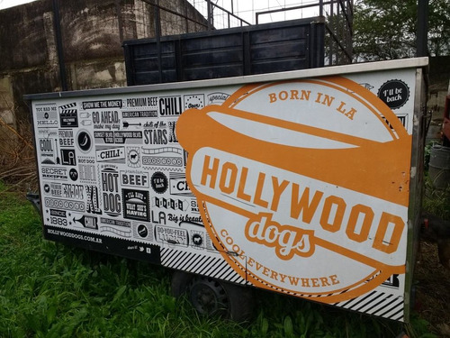 trailer gastronómico food truck, bacha acero inoxidable