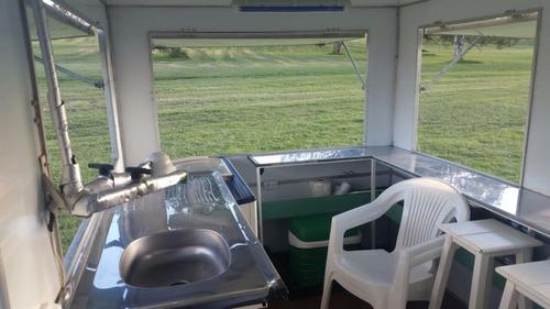 trailer gastronomico - food truck - equipado