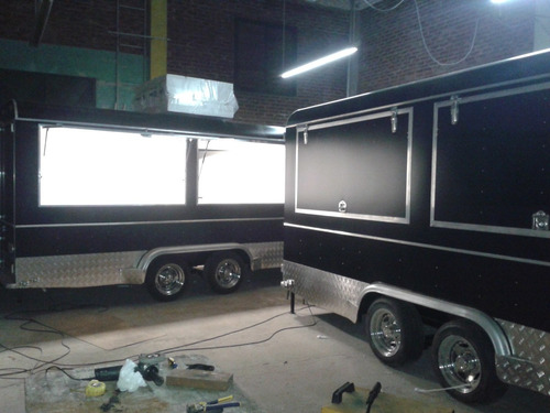 trailer gastronomico, food truck, food trailer