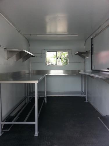 trailer gastronomico  foodtruck tipo americano reglamentario