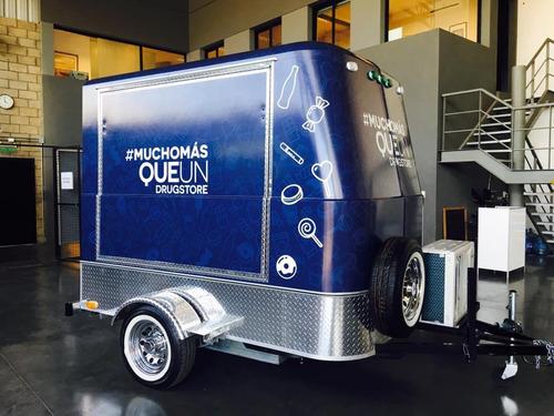 trailer gastronómico mactrail monterrey 100 s std