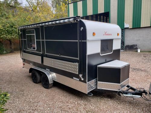 trailer gastronómico  nuevo  fabrica food truck-