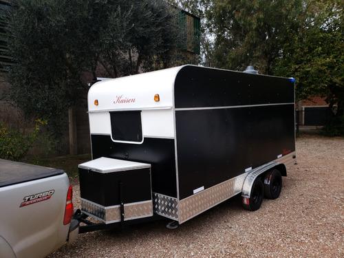trailer gastronómico  nuevo  fabrica kaisen-