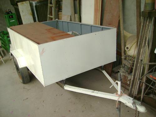 trailer gran capacidad de carga