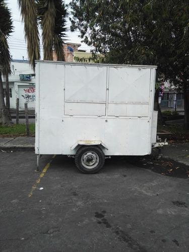 trailer grande food truck comidas o carga vendo permuto