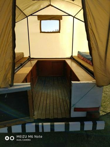 trailer habitación 4 plazas ,empadronado ,patente y seguro.