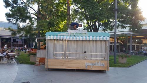 trailer helados 4mts, foodtruck