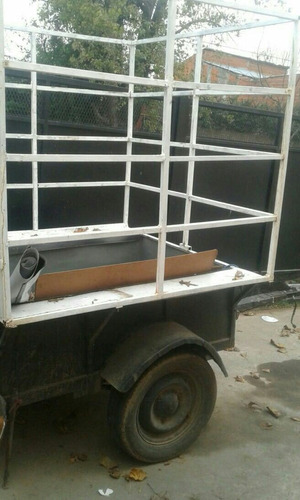 trailer ideal para transportar juegos de living /inflables