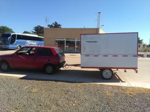 trailer  ideal puesto de venta ambulante