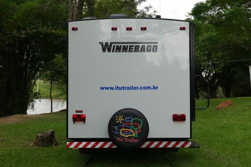 trailer importado winnebago 0 km - pronta entrega no brasil
