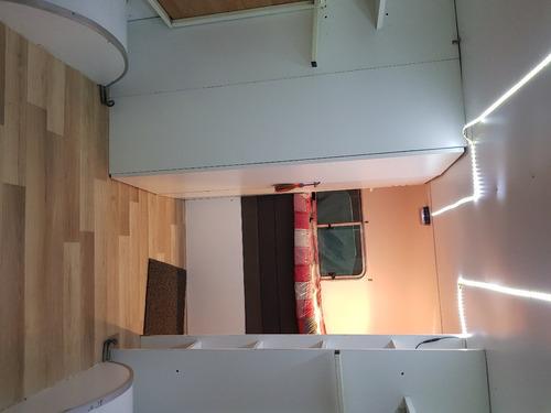 trailer kaisen cerrado para cuatriciclo, con equip. casa rod