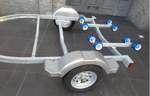 trailer karavan 0 km americano galvanizado