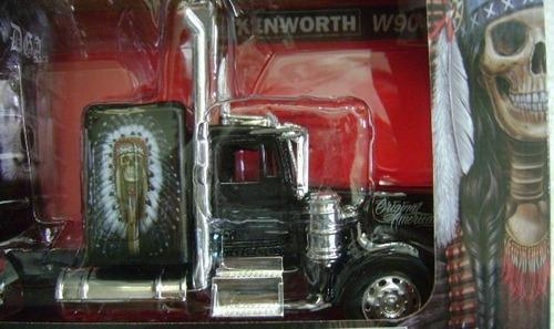 trailer kenwhort w900 new ray esc. 1/32 nuevo