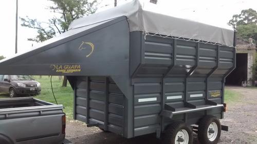 trailer la guapa para 2 caballos de salto
