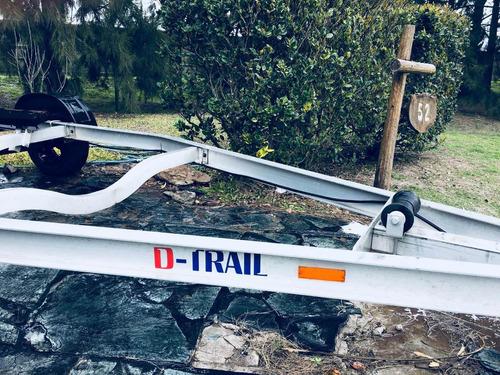 trailer lancha barco m-trail 7 mts