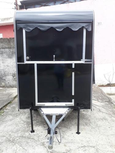 trailer lanchonete -  food truck - novo !!!
