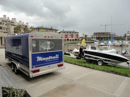 trailer mactrail 210 para publicidad y promocion, patentable