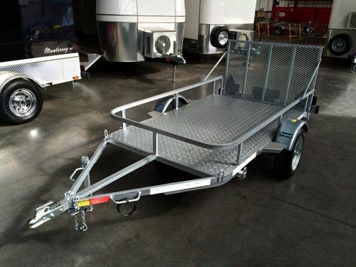 trailer mactrail cuatri + moto de agua patentable!