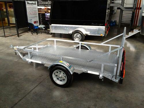trailer mactrail cuatriciclo grande homologado con lcm