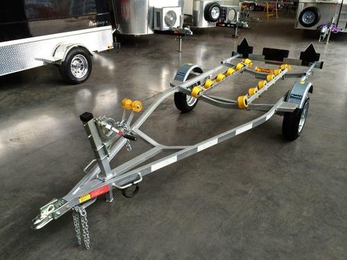 trailer mactrail lancha 16 pies con rodillos, homologado