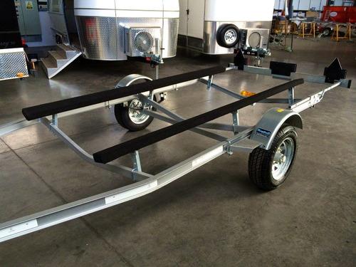 trailer mactrail lancha 18 pies homologado con lcm