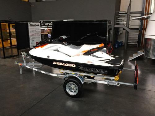 trailer mactrail moto de agua con rolos rodillos homologado
