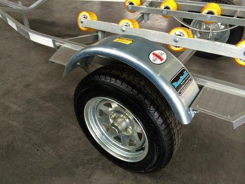 trailer mactrail moto de agua rodillos sin frenos