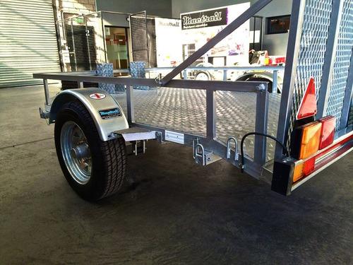 trailer mactrail para 2 o 3 motos homologados con lcm