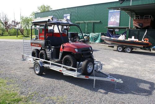 trailer mactrail para moto o cuatri, acorde ley 24.449