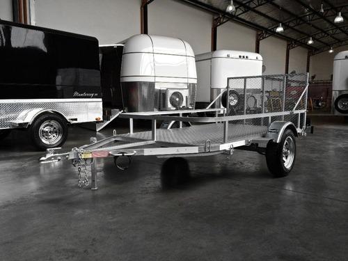 trailer mactrail para utv arenero polaris atv con freno