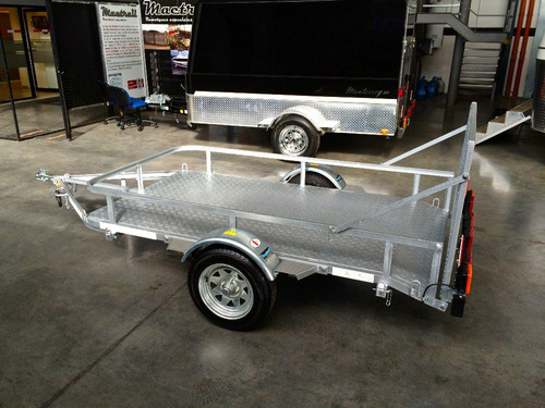 trailer mactrail para utv con freno, lcm, patentable