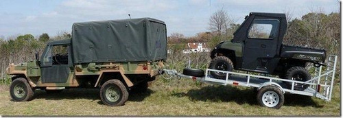 trailer mactrail, semirigido 4,30 metros 14 pies cama madera