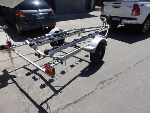 trailer milione para motos de agua galvanizados o pintados!!