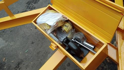trailer minicargadora minipala 12 cuotas