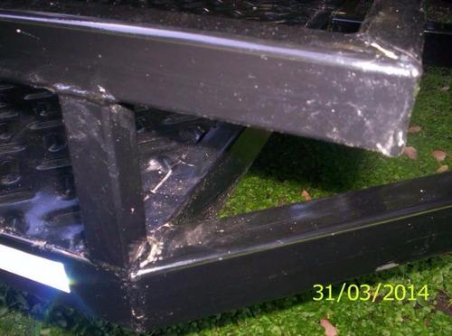 trailer  moto 1,24 x 2,25 cuatri karting cuatriciclo