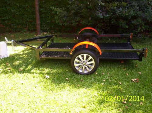 trailer  moto cuatri 1.24 x 2.25 util