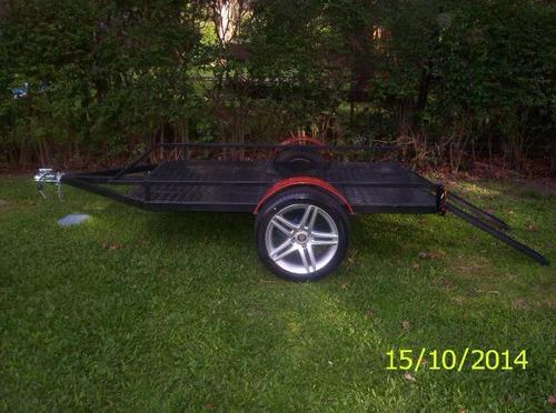 trailer moto cuatri 1.24 x 2.25util batan