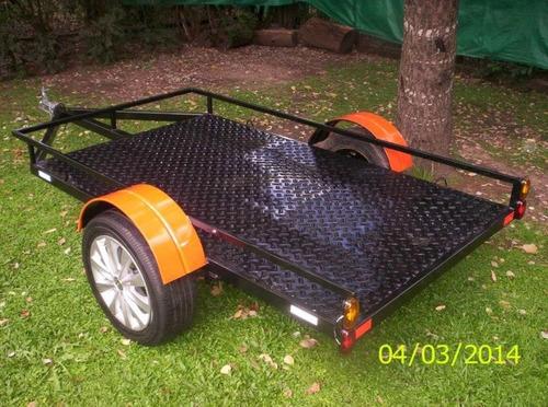 trailer moto cuatri karting cuatriciclo